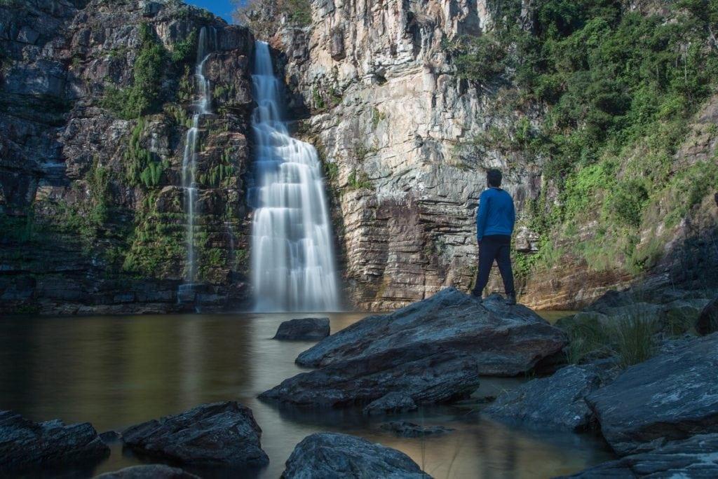 Cachoeira do Garimpão, Chapada dos Veadeiros